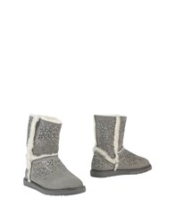 Ioannis Ankle Boots Light Grey