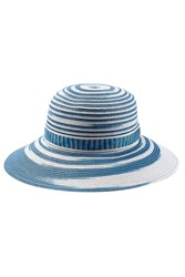 Missoni Mare Straw Hat Blue