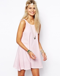Asos Sundress In Oil Wash Pink