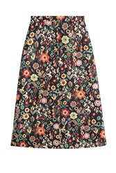 Red Valentino Floral Midi Skirt Florals