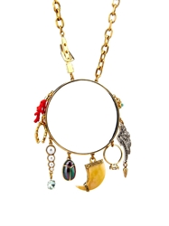 Lulu Frost Traveller Multi Charm Necklace