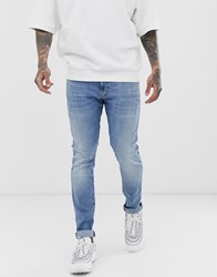 G Star Revend Skinny Fit Jeans In Light Aged Blue