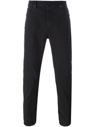 Pence Straight Fit Chinos Black