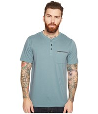 Hurley Lagos Dri Fit Lagos Henley Hasta Men's Clothing Blue