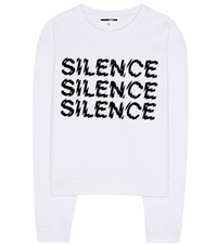 Mcq By Alexander Mcqueen Printed Cotton Sweatshirt White