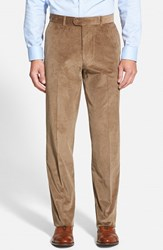 Men's Big And Tall Linea Naturale Weathered Corduroy Pants Tan