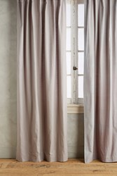 Anthropologie Parker Curtain Light Grey