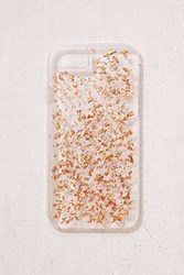 Urban Outfitters Rose Gold Flecked Iphone 8 7 Case Clear