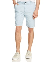 7 For All Mankind Twill Chino Shorts Light Blue