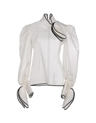 Io Couture Blouses Ivory