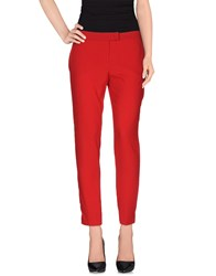 Soallure Trousers Casual Trousers Women Red