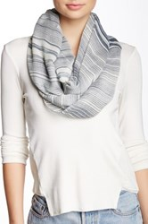 14Th And Union Stripe Infinity Scarf Blue
