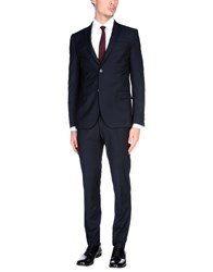 Daniele Alessandrini Grey Suits Black