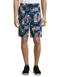 Tommy Bahama Floral Lounge Shorts Navy Floral