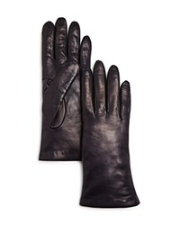 Bloomingdale's Leather Gloves Navy