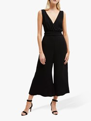 French Connection Bessie Crepe Jumpsuit Black