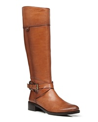 Vince Camuto Wide Calf Buckle Leather Tall Shaft Boots