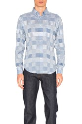 Naked And Famous Regular Shirt Blue