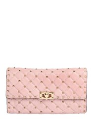 Valentino Spikes Quilted Studded Leather Clutch
