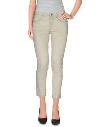 Maggie Trousers 3 4 Length Trousers Women Ivory