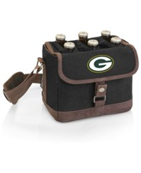 Picnic Time Green Bay Packers Beer Caddy Brown Black