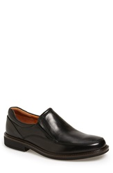 Ecco 'Holton' Venetian Loafer Men Black Leather