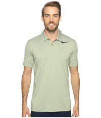 Nike Mobility Control Stripe Polo Palm Green Black Men's Short Sleeve Pullover