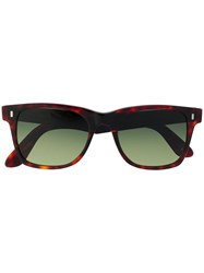 L.G.R Jambo Square Frame Sunglasses Brown