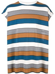 Wooyoungmi Striped Sleeveless T Shirt Multicolour