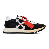 Off White Black And Running Sneakers