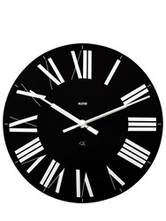 Alessi Firenze Wall Clock Black