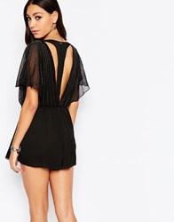 Pepe Jeans Cut Out Back Romper 999