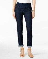 Styleandco. Style And Co. Pull On Cuffed Boyfriend Jeggings Only At Macy's Rinse