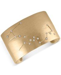 Rachel Roy Gold Tone Pave Constellation Cuff Bracelet