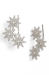 Sole Society Women's Crystal Star Ear Crawlers