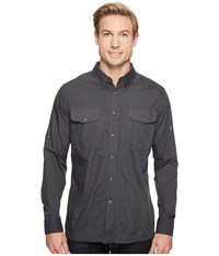 Kuhl Airkraft Carbon Men's Long Sleeve Button Up Gray