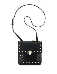 Nine West Eugenie Faux Leather Crossbody Black