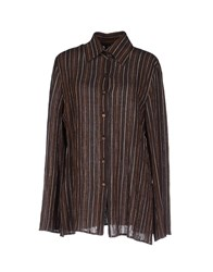 Diana Gallesi Shirts Shirts Women Cocoa