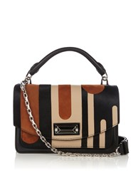 Max Mara Nhtr01 Shoulder Bag Black Multi