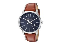 Coach Bleecker Slim Leather Matte Navy Watches
