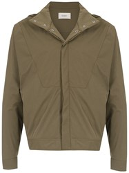 Egrey Quilted Jacket Green