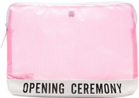 Opening Ceremony Pink Pvc Mesh Clutch