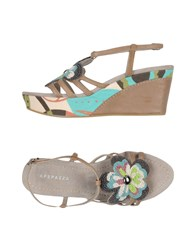 Apepazza Sandals Khaki
