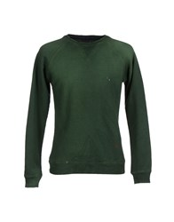 People Topwear Sweatshirts Men Green