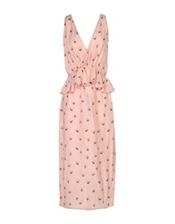 Cycle 3 4 Length Dresses Pink