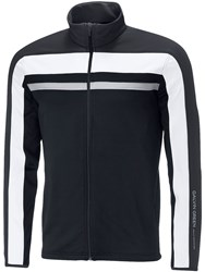 Galvin Green Men's Doyle Insula Full Zip Jumper Black