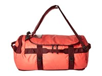 The North Face Base Camp Duffel Medium Cayenne Red Regal Red Duffel Bags Pink