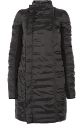 Rick Owens Eileen Padded Shell Jacket Black