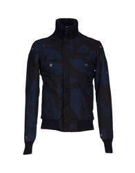 Gold Bunny Jackets Dark Blue