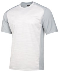 Greg Norman For Tasso Elba Men's Heathered Performance T Shirt Created For Macy's Silverspoon Opd